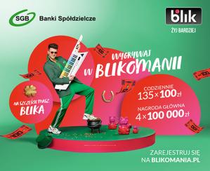 BLIKOMANIA dla klientów Banku Spółdzielczego w Kcyni!