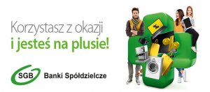 """Nowa promocja kredytu gotówkowego """"Kredyt PLUS""""."""